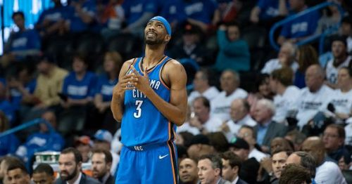 Corey Brewer spent the second half of the 17/18 season in Oklahoma City