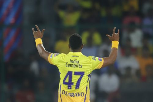 Dwanye Bravo sparkled with the ball as CSK cruised past DC. (PIC-IPLT20.COM)