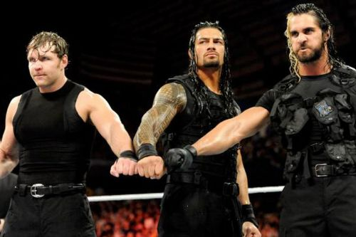 Something tells me that the Shield reunion will not go perfectly