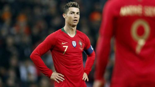 Ronaldo was left frustrated in front of goal despite having a number of good chances against Ukraine.