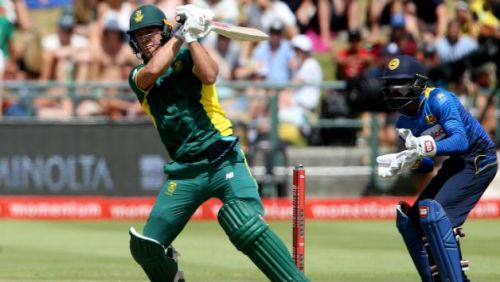 South Africa beat Sri Lanka by 41 runs via D/L method in the 5th ODI