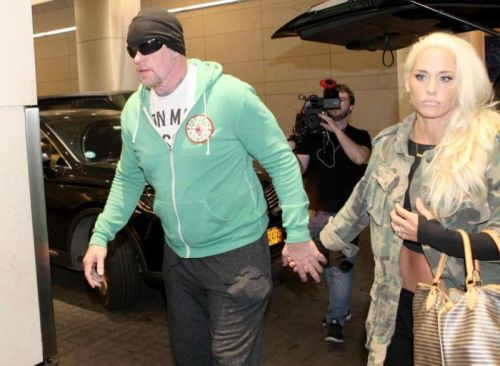 The Undertaker with his wife Former Divas Champion, Michelle McCool