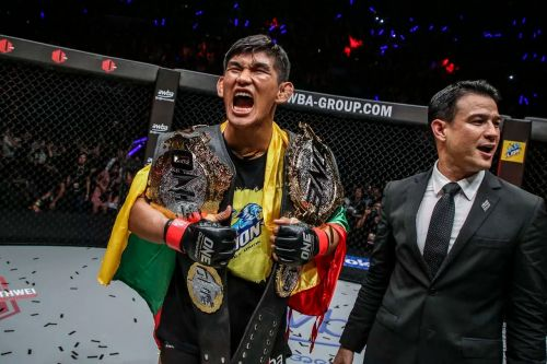 The ONE Light Heavyweight and Middleweight World Champion is deep in camp preparing for his upcoming middleweight title defense against Japan's Ken Hasegawa