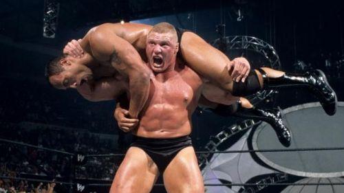 The Rock helped set up Brock Lesnar's fledgling WWE career