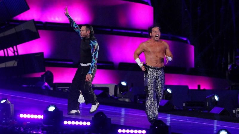 The surprise return of the Hardy Boyz at WrestleMania 33 was an electric moment.