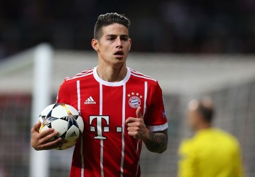 James Rodriguez would be Arsenal's next best option.