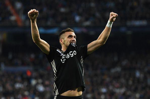 Dusan Tadic starred in Ajax