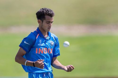 Kamlesh Nagarkoti during the U-19 World Cup last year