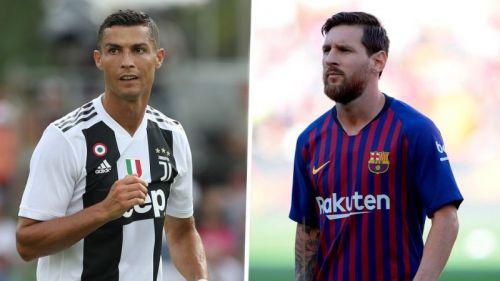 Ronaldo is now seven goals behind Messi in the European Golden Shoe race