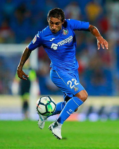Getafe's Damian Suarez.