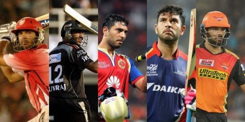 Yuvraj Singh had played for 5 IPL franchises till 2018.