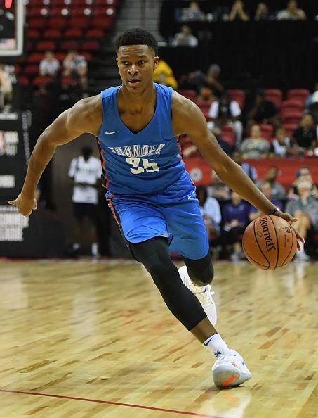 2018 NBA Summer League - Las Vegas - Oklahoma City Thunder v Charlotte Hornets