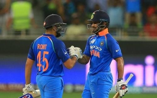 Rohit Sharma And Dhawan