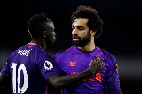 Liverpool superstars - Sadio Mane and Mohamed Salah