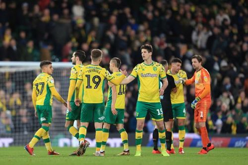 The Norwich midfield, marshalled by Trybull, is a well-drilled engine