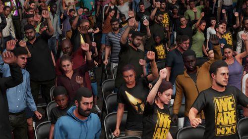 We need better audiences in WWE 2K20
