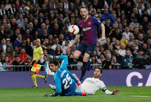 Ivan Rakitic scored the winner in the recent El Clasico