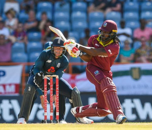 Chris Gayle has made an emphatic comeback in this series