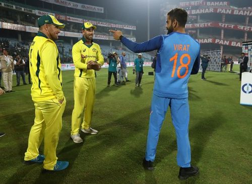 India v Australia - ODI Series: Game 5 Usman Khawaza - Player of the Series Usman Khawaza - Player of the Series