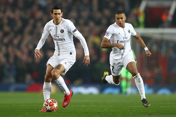 di Maria and Mbappe terrorised Manchester United in their first leg tie, before United did the unthinkable