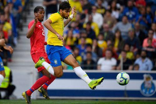 AC Milan's Lucas Paqueta scored Brazil's opener