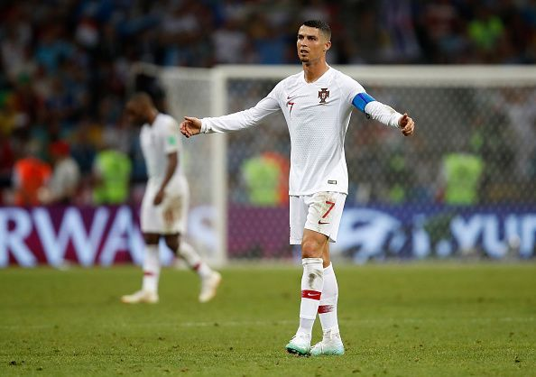 Ronaldo is the captain for Portugal national team
