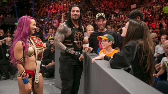 Roman Reigns is very popular among WWE