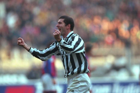 Zinedine Zidane during his time at Juventus