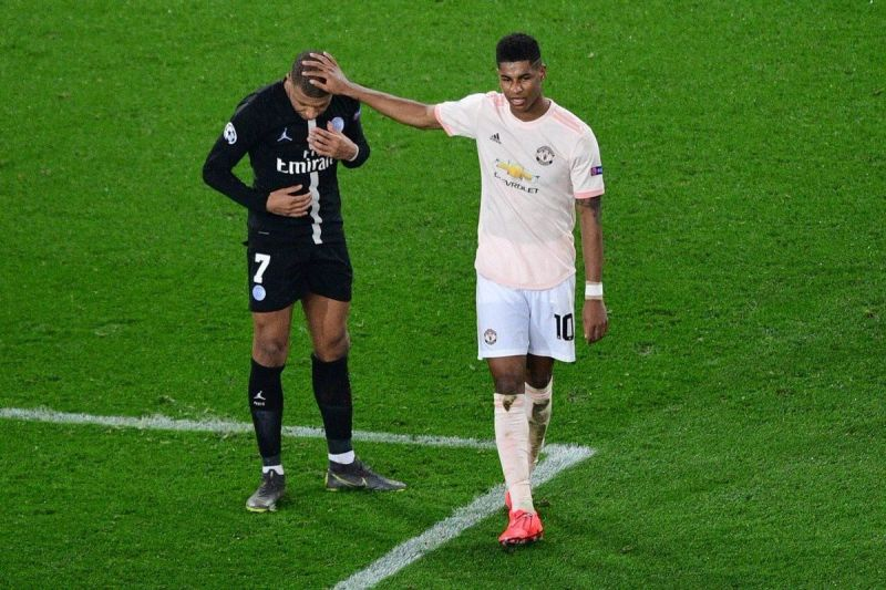 Rashford outshined Mbappe during the PSG vs Man United nd-leg game