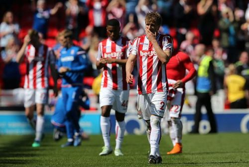 Stoke City was relegated last season from the Premier League after completing ten years in the top tier English club competition