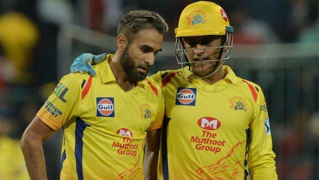Imran tahir and ms dhoni