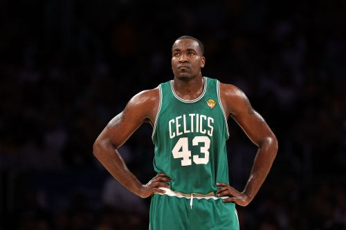 Kendrick Perkins was traded by the Grizzlies to the Celtics on draft day.