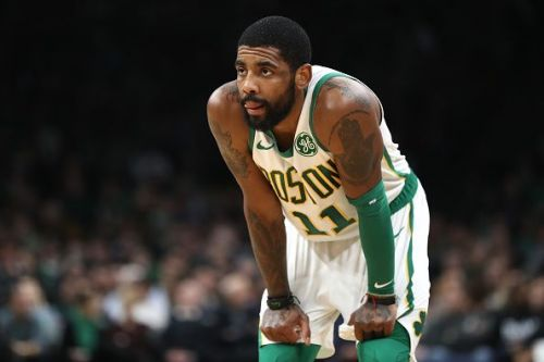 Boston Celtics All-Star Kyrie Irving in a win against Wizards