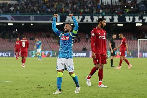 Lorenzo Insigne has been one of Napoli's most important players over the years.