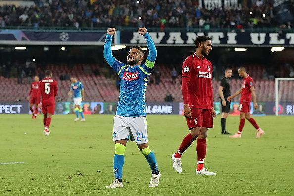 Lorenzo Insigne has been one of Napoli