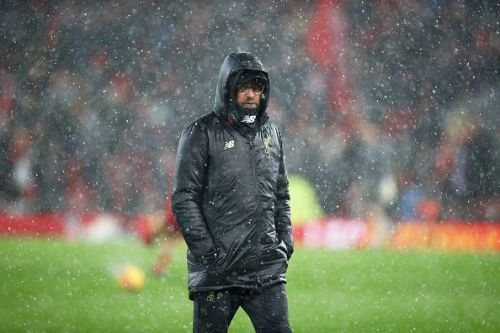 Klopp inexplicably held the snow accountable for his side's draw against Leicester
