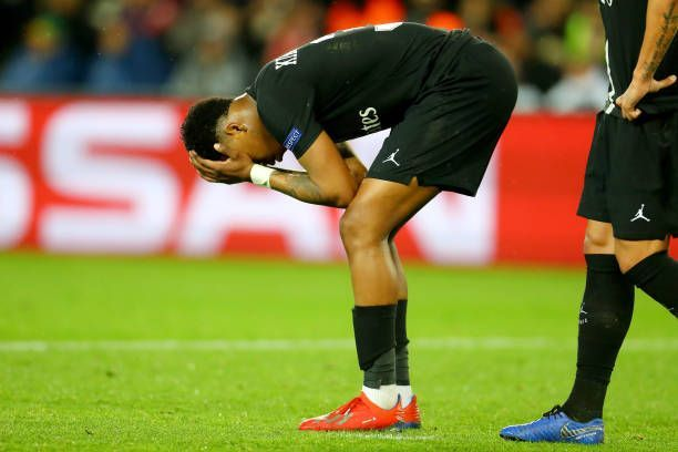 Kimpembe was distraught