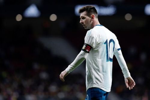 Messi suffered a disappointing return as his Argentina side fell to a 3-1 defeat