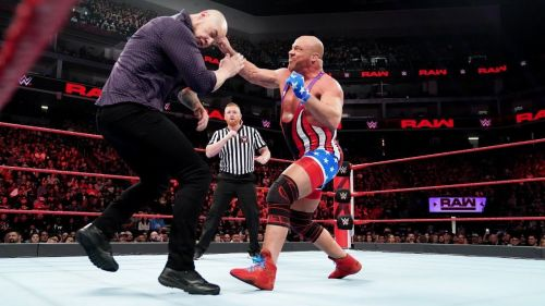 Image result for baron corbin kurt angle