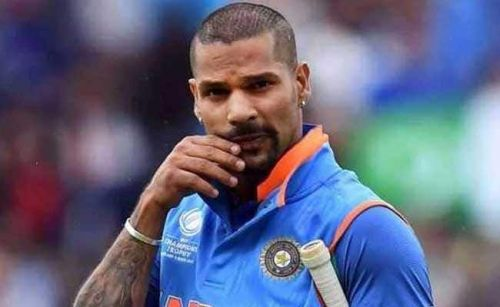 Dhawan's poor form is hurting the Indian batting contingent