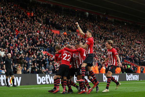 James Ward-Prowse scored a stunning free-kick
