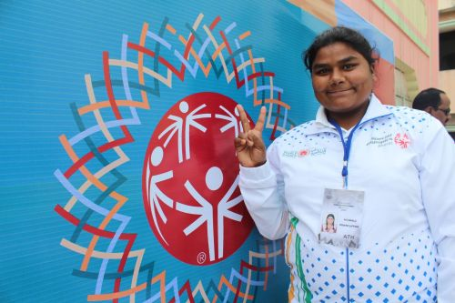 Shalu is excited to be a part of the upcoming Special Olympics and aims to secure a Gold Medal for the nation
