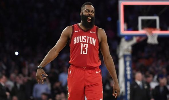 James Harden is a leader in the MVP race alongside players like Luca Doncic and Giannis