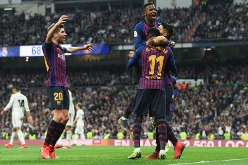 The Blaugrana won the hard way against Real Madrid in the Copa Del Rey semi-finals