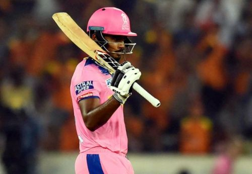 Sanju Samson became the first centurion of IPL 2019 on Friday