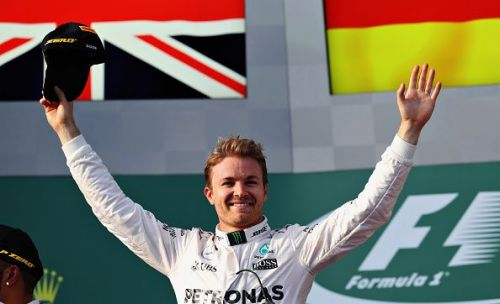 Nico Rosberg won the opening round of the 2016 season, he'd go on to win the title that year.