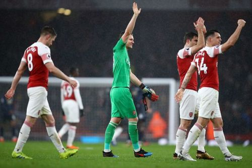 Arsenal got the better of Manchester United in a crunch tie