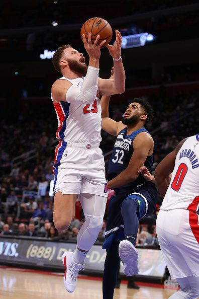 Detroit Pistons have been carried on the shoulders of Griffin all season long