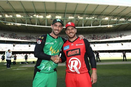 Maxwell and Finch led their respective sides to the Big Bash 2018/19 finals
