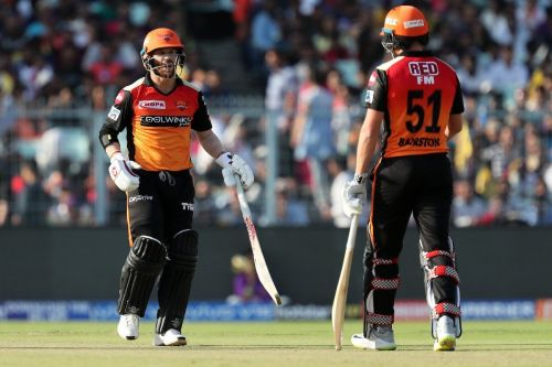David Warner & Johnny Bairstow